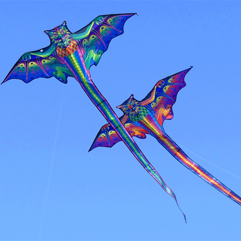free shipping 3d dragon kite for kids kite nylon toys flying eagle kites children kite line weifang bird kite factory wholesale недорого
