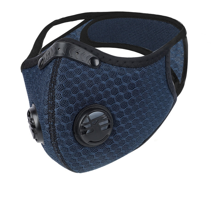 new n95 dust mask activated carbon double breathing valve protective masks dust mask masks second hand smoke More-Layer Prevention Dace Masks Anti-dust Safe PM2.5 Protective Respirato Mask Filter + Masks Activated Bamboo Carbon Mask