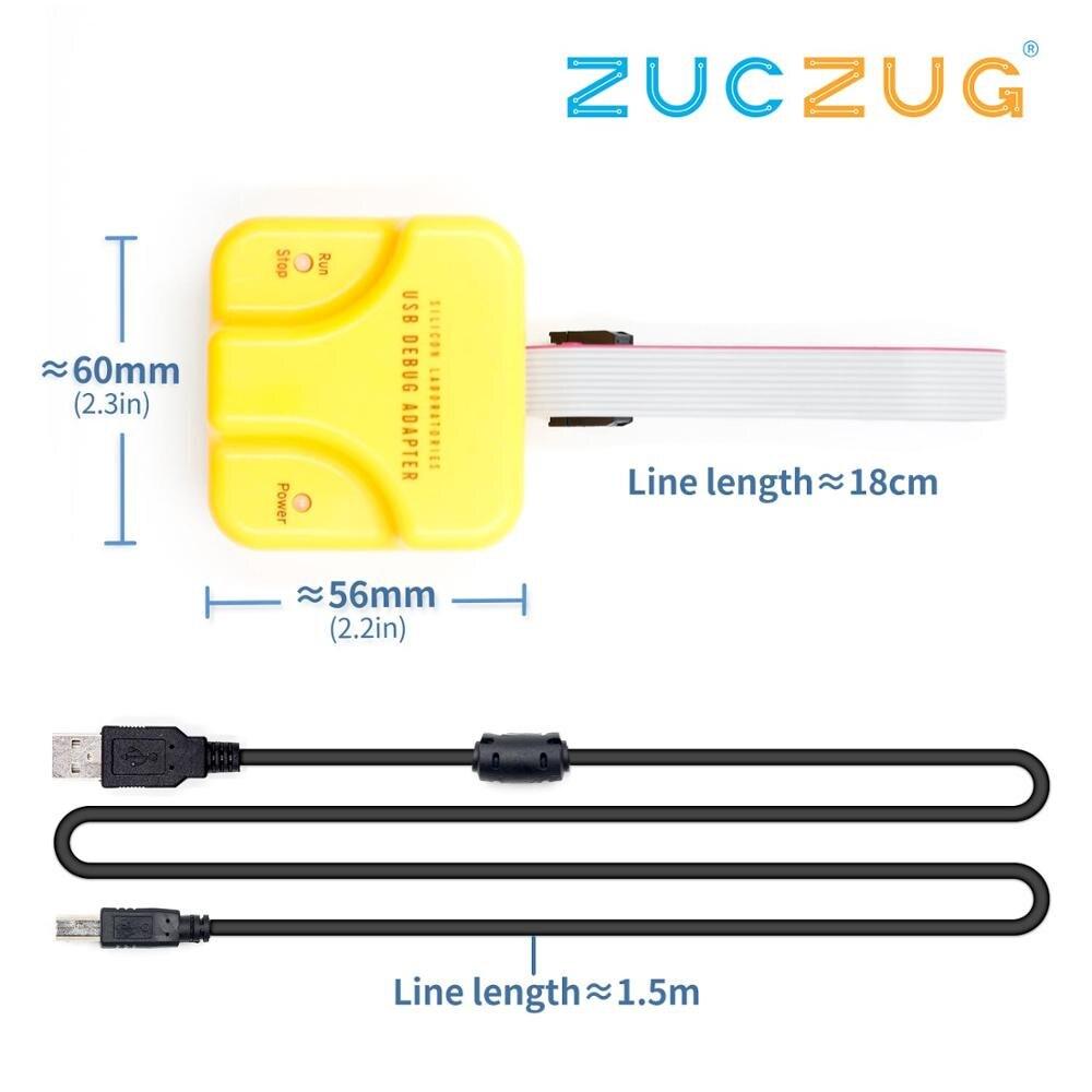 C8051F MCU скачать/эмулятор/debugger JTAG/C2 Hualong новая официальная версия U-EC6 EC5