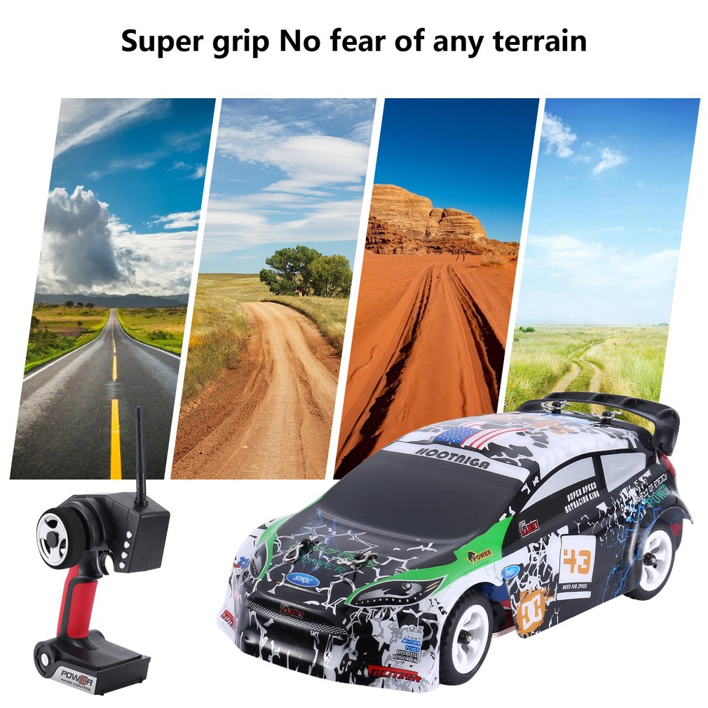 Wltoys K989 1/28 4WD Brushed RC Remote Control Rally Car RTR with Transmitter Explosion-proof Racing Car Drive Vehicle enlarge
