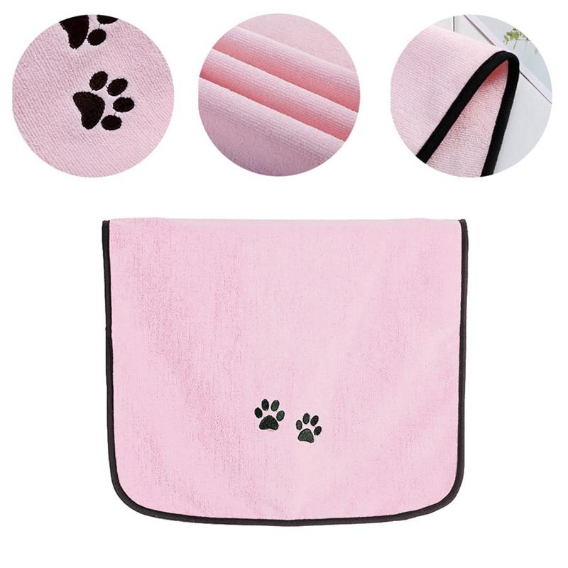 Toallas de baño de microfibra para perro mascota, toalla de secado súper absorbente para mascotas, toalla de limpieza de mascotas, toallas para perros, gatos y cachorros