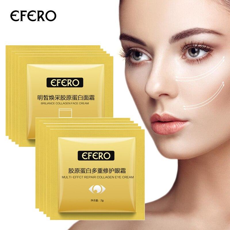 100/200pack Face Day Cream Anti Wrinkle Anti Aging Lifting Firming Hyaluronic Acid Face Cream Whitening Nourishing Face Serum