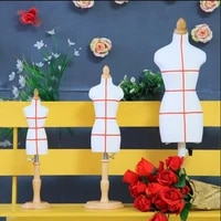 high quality 14 female woman body mannequin sewing for clothesbusto dress foam stand14 scale jersey bustminil size 1pc d241