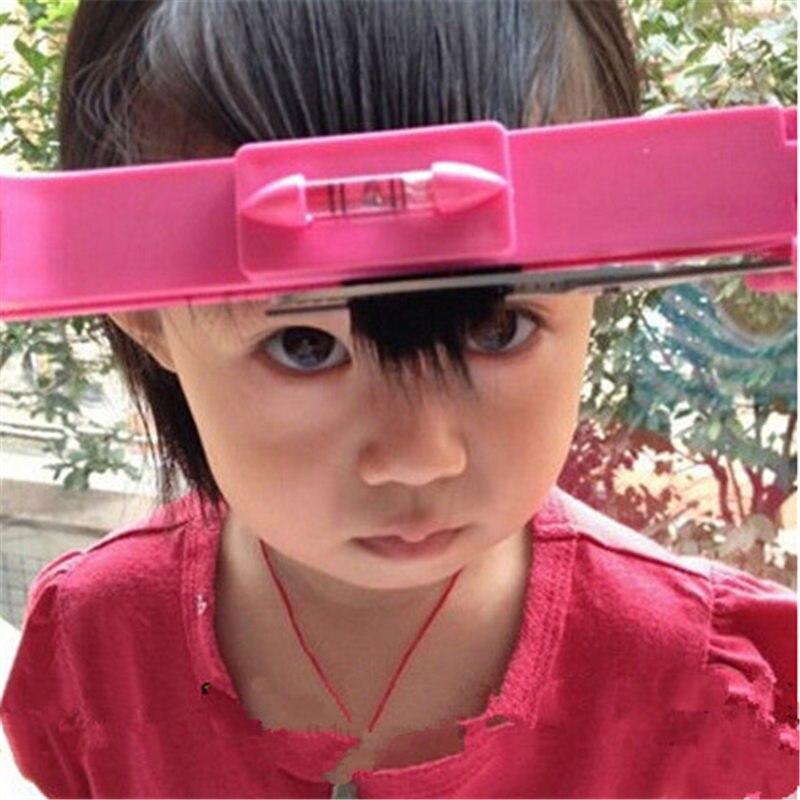 1pc nuevo de pelo de herramienta de corte Clipper peine guía para el cabello lindo Bang nivel regla DIY accesorios para el cabello