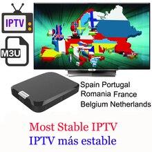 Die meisten Stabile Live IPTV für spanien frankreich m3u iptv smarters Abonnement 1 Jahr VOD Europa android set top