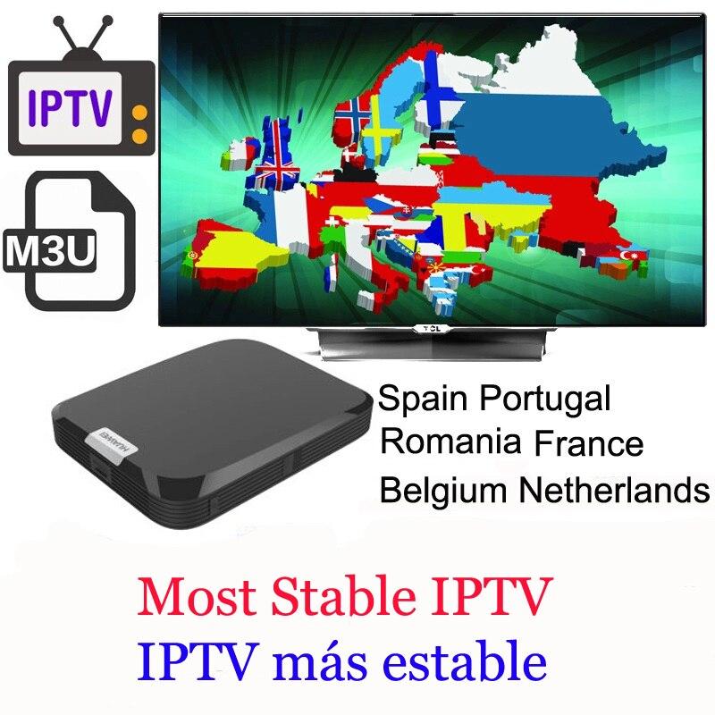 IPTV en vivo más estable para españa francia m3u iptv smarters suscripción 1 año VOD Europa set android top