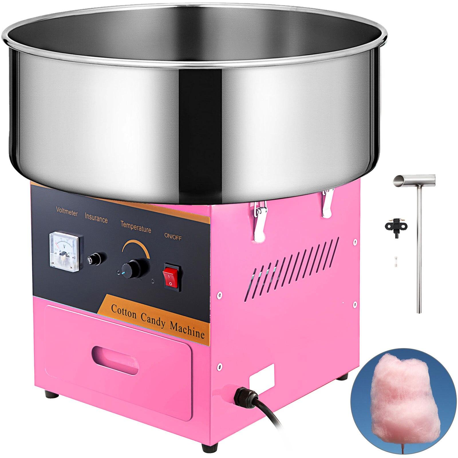 """VEVOR-máquina de algodón de azúcar comercial eléctrico para niños, 21 """", hilo de azúcar para fiesta, hecha en una variedad de colores"""