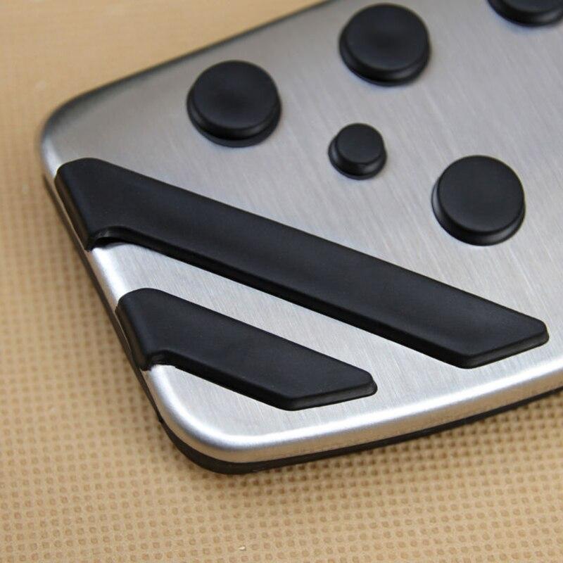 2 unids/set cubierta de Pedal de freno de Gas sin taladro para Mitsubishi Outlander Sport Eclipse Cross ASX Fit para conducción a la izquierda de alta calidad