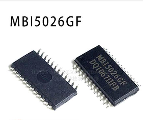 MBI5026GF, controlador LED, Chip IC mbi5026 sop24