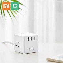 Xiaomi mijia küp dönüştürücü USB soket dönüştürücü fiş çok fonksiyonlu plug-in kurulu elektrikli küp şarj çekici kurulu akıllı
