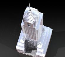 Chrysler building Custom order hoge kwaliteit hoge precisie digitale modellen 3D afdrukken dienst Klassieke objecten ST2085