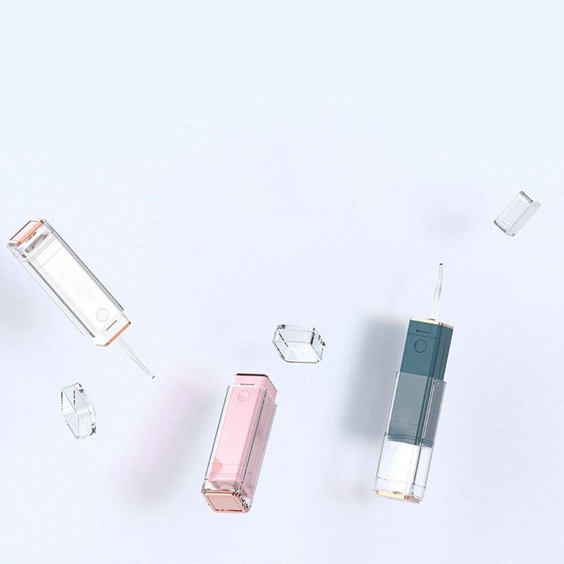 مسواك كهربائية صغيرة ، مرواء فم محمول ، منظف أسنان