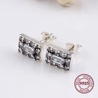 hot original 925 sterling silver creative crystal ice stud earrings ice earrings bright ice stud earrings for women gift