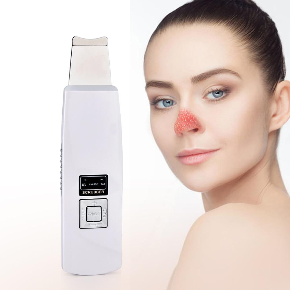 Depurador ultrasónico de piel con pantalla LCD para limpieza Facial profunda, Exfoliante...