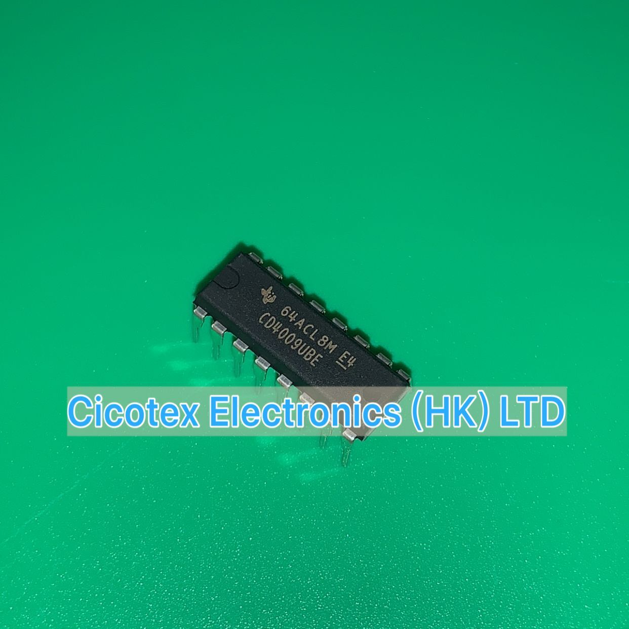 10 pcs/lot CD4009UBE DIP16 CD4009 UBE IC HEXAGONALE INVERTI BUFF-CONV 16-DIP CD 4009UBE CD4009BE
