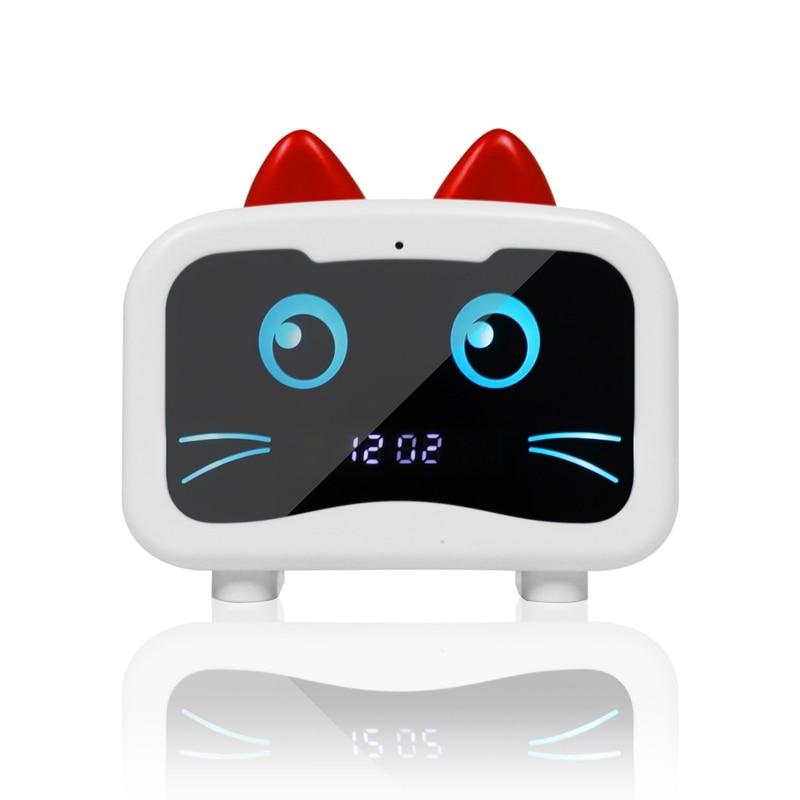 Reloj Bluetooth altavoz portátil Mini altavoz inalámbrico Bluetooth altavoz de tarjeta TF de gran volumen