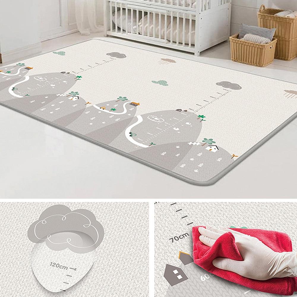 Cobertor do Bebê Tapete Jogo Esteira Espuma Quebra-cabeça Almofada Criança Rastejando 200*180cm 1pc