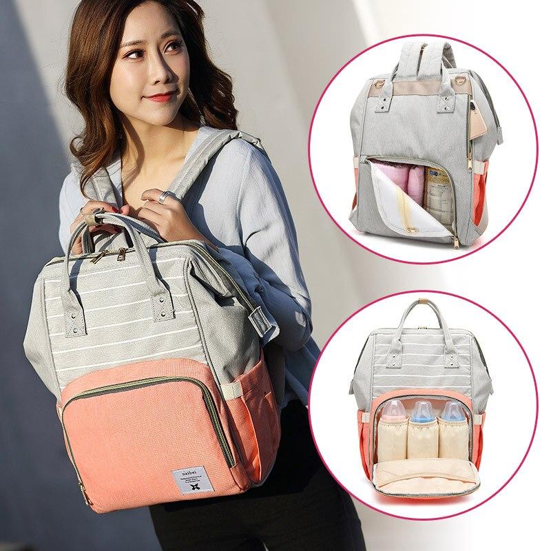 Diaper Bag Backpack Designer Nursing Care Baby Bag Travel Nappy Bag Organizer Waterproof Maternity Bag for Mummy
