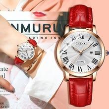 Fashion Casual Women Dress Watch Simple Minimalism Luxury Top Brand Rose Gold Dress Watch for Ladies Calendar Waterproof Clock