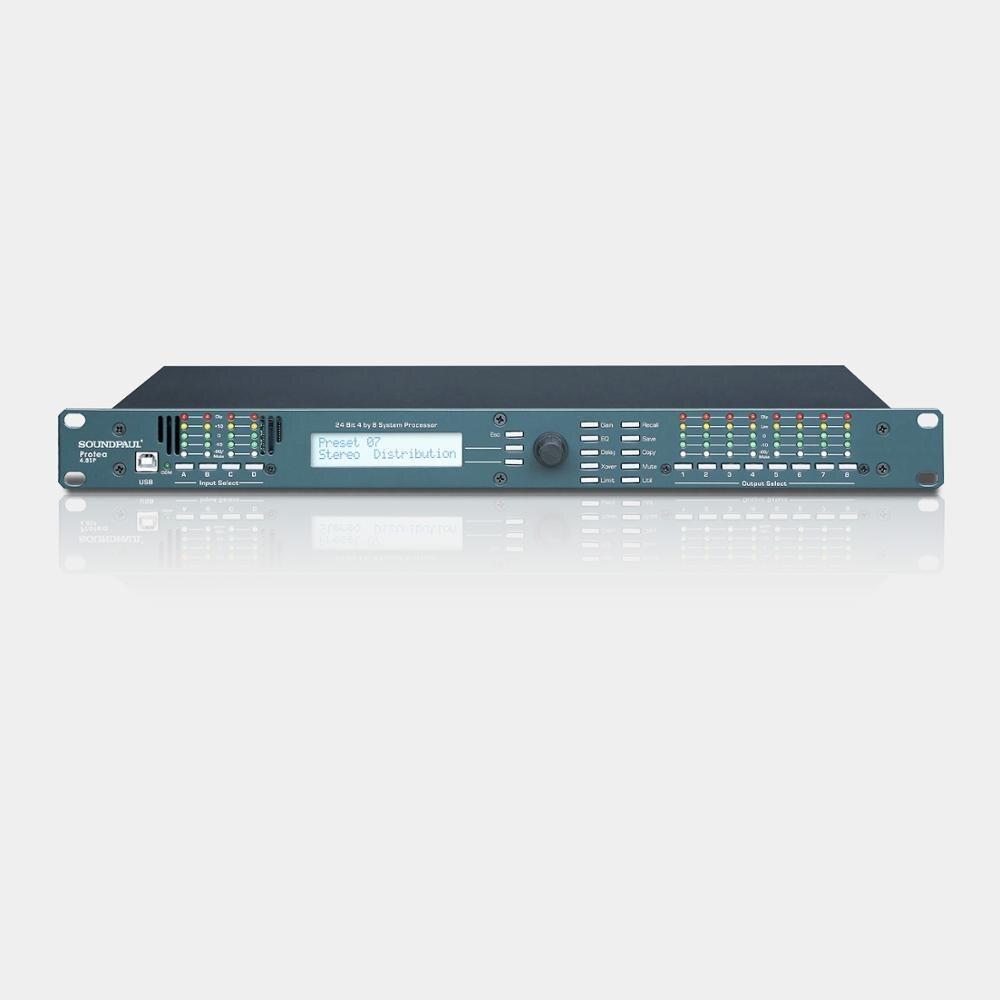 Professional audio processor ash ley 4.8SP processor enlarge