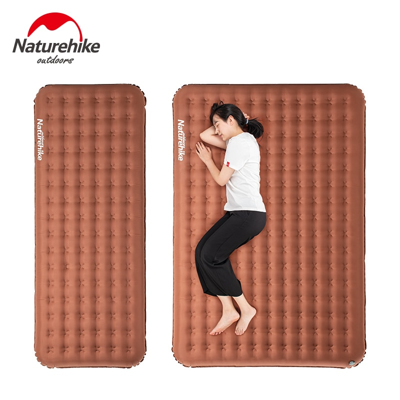 Naturehike Ultralight 16cm Thickened Camping Mat Inflatable Mattress 1-2 Persons TPU Waterproof Air Bed Outdoor Portable Mat
