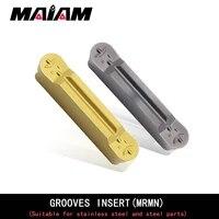 grooving insert mrmn200 mrmn300 mrmn400 mrmn500 m r1 r1 5 r2 r2 5 pc9030 nc3020 nc3030 carbide insert metal lathe tools