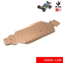 WLtoys 1:14 144001 144001-1249 Metal chassis Lower Plate RC car R/C Spare Parts Accessories Model To