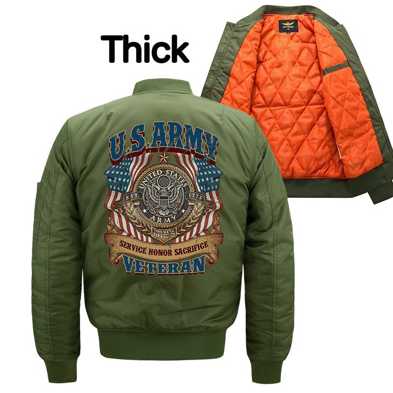 Мужские зимние куртки-бомберы, роскошная модная повседневная куртка, уличная одежда больших размеров, Спортивная утепленная одежда из хлоп...