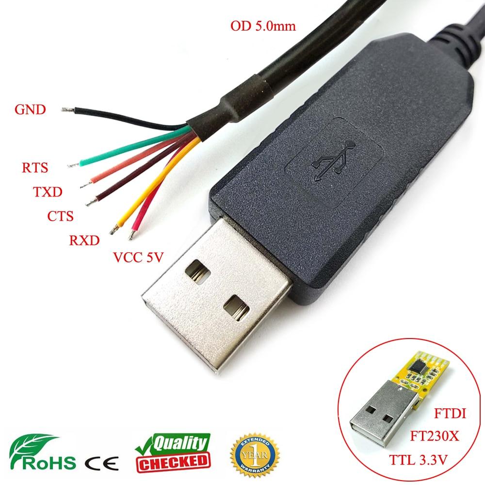 Win8 10 mac android linux ftdi ft230x usb uart ttl 3,3 v flash загрузка программного кабеля для plc mcu