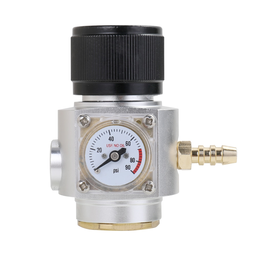 طقم شاحن ثاني أكسيد الكربون الصغير Sodastream ، 0-90 PSI ، شاحن برميل البيرة
