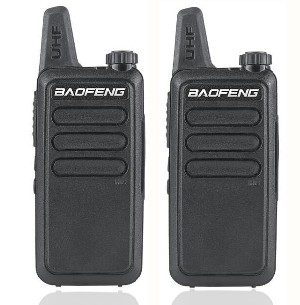 2pcs Baofeng BF-R5 Mini Walkie Talkie USB Fast Charger BF-C9 Ham CB Portable Radio Set BFR5 walkie-talkie two way radio