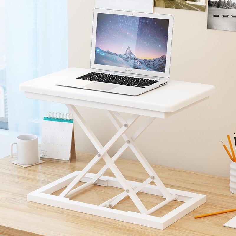 Подъемный стол компьютерный стол складной стол кровать стол простой ноутбук стол ленивый Рабочий стол