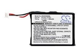 Bateria para apple ec003 mini 6gb m9805, mini 6gb m9805/a, mini 6gb m9805b/a 450mah/1.67wh