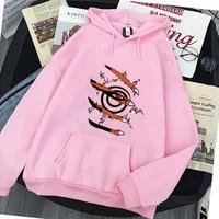 mens womens hoodie sweatshirt harajuku anime clothes kurama ninjutsu print streetwear hoodies fashion casual loose oversized