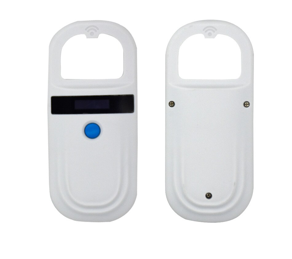 Free shipping ISO11784/5 FDX-B Animal pet ID chip reader transponder USB RFID handheld microchip scanner for dog,cats,horse enlarge