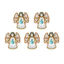 4/5 Uds. DIY especial en forma de taladro completo de diamantes de pintura llavero Kits mariposa/Corazón de amor diamante pintura punto de cruz llavero