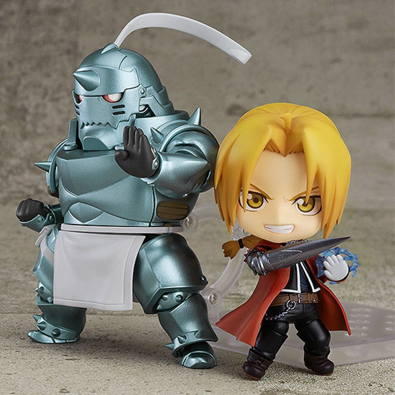 Japan Anime Figures Fullmetal Alchemist Edward Elric Alphonse Cute PVC Toys Action Figurine Model Kids  Cartoon 2021