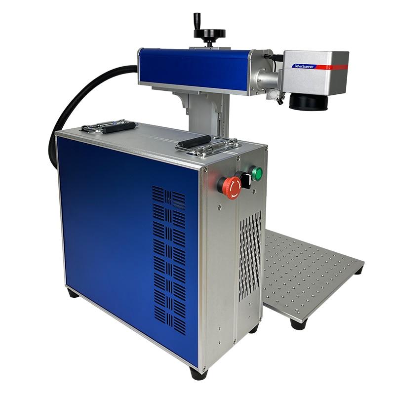 Fiber Laser Marking Machine 20w 30w 50w Jpt Raycus Laser Engraver Metal Cards Stainless Steel Gold Silver Cutting Machine