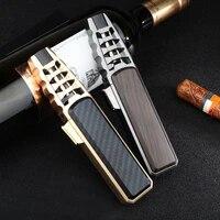 2020 jobon windproof direct spray gun cigar welding torch kitchen baking metal inflatable lighter high temperature 1300 degrees