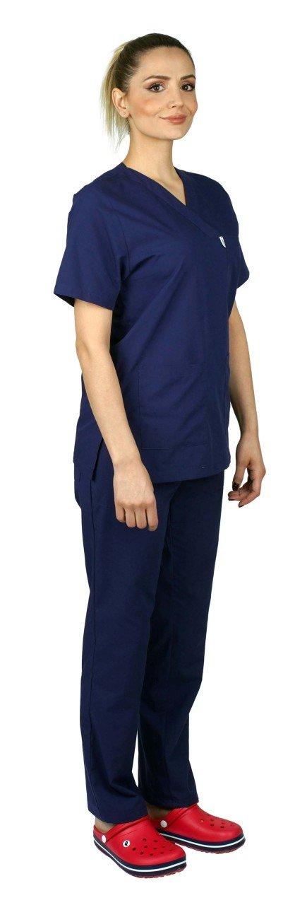 Surgical Jersey Women Outdoor Navy Terikoton Fabric surgical forma women khaki green terikoton fabric