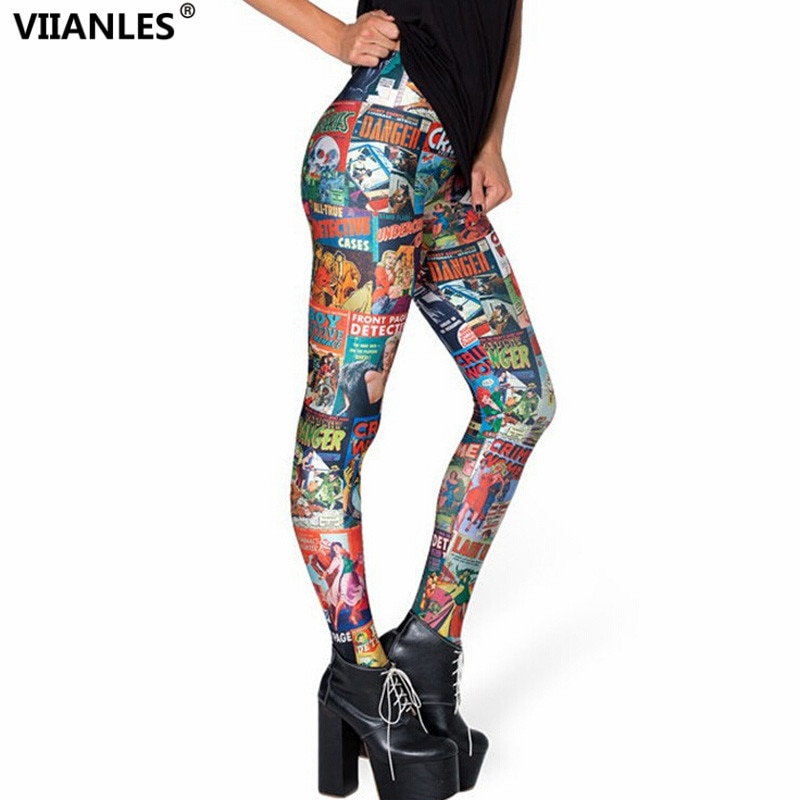 Pantalones de mallas estampadas para mujer, graciosos Pantalones de mallas con dibujos cuadrados sexis, Pantalones modernos, mallas para Fitness