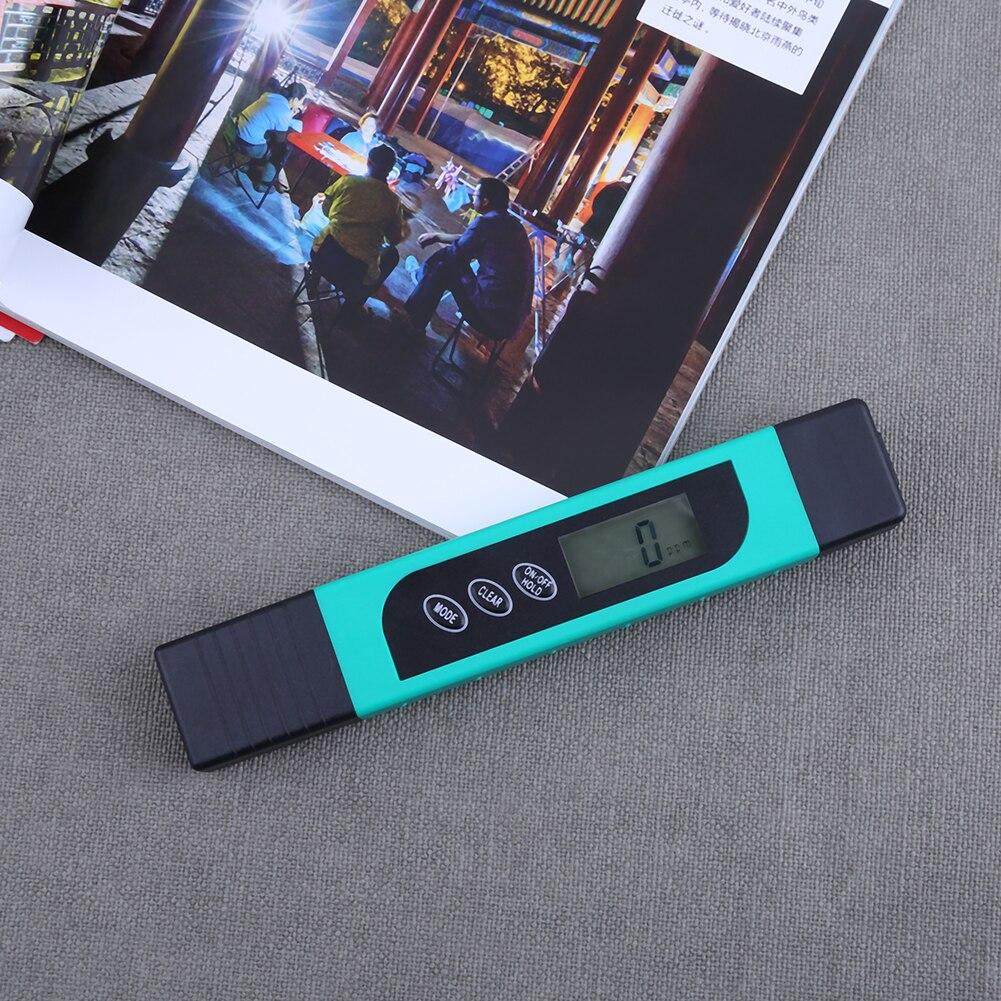 Tds/ec/monitor de temperatura caneta teste para piscinas aquários teste de qualidade da água caneta couro capa qualidade teste ferramenta