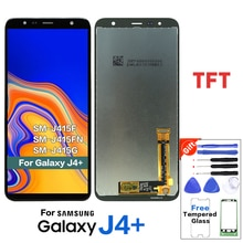 TFT ЖК-дисплей для samsung Galaxy J4 + J4 Plus J415 J415F/J6 Prime J6 Plus 2018 J610 ЖК-дисплей с сенсорным экраном J4 Core lcd J410