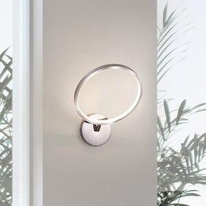 LOFAHS Hot Selling Chrome Color Wall Sconce Light Fixture Wall Bracket Lamp LED Wall Light for Bedroom Hallway Corridor aisle