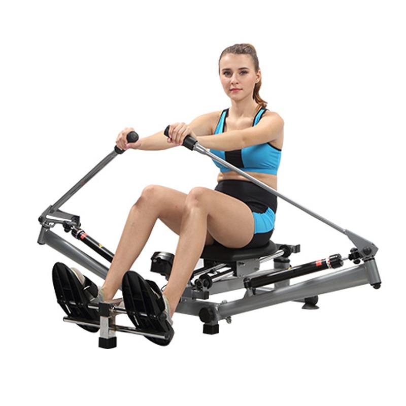 K7106 rowing machine folding hydraulic rowing machine girl full body sports home simple fitness equipment
