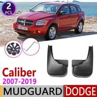 Rear Mudflap for Dodge Caliber 2007~2019 Fender Mud Guard Splash Flaps Mudguards Accessories 2008 2009 2010 2011 2012 2013 2014