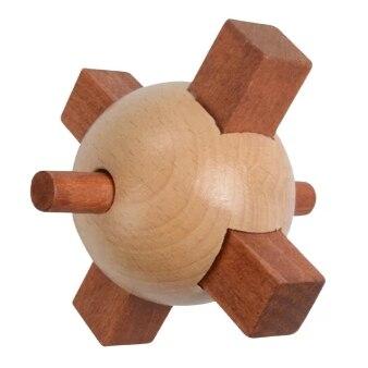 Juego de rompecabezas de madera con forma de Torpedo IQ