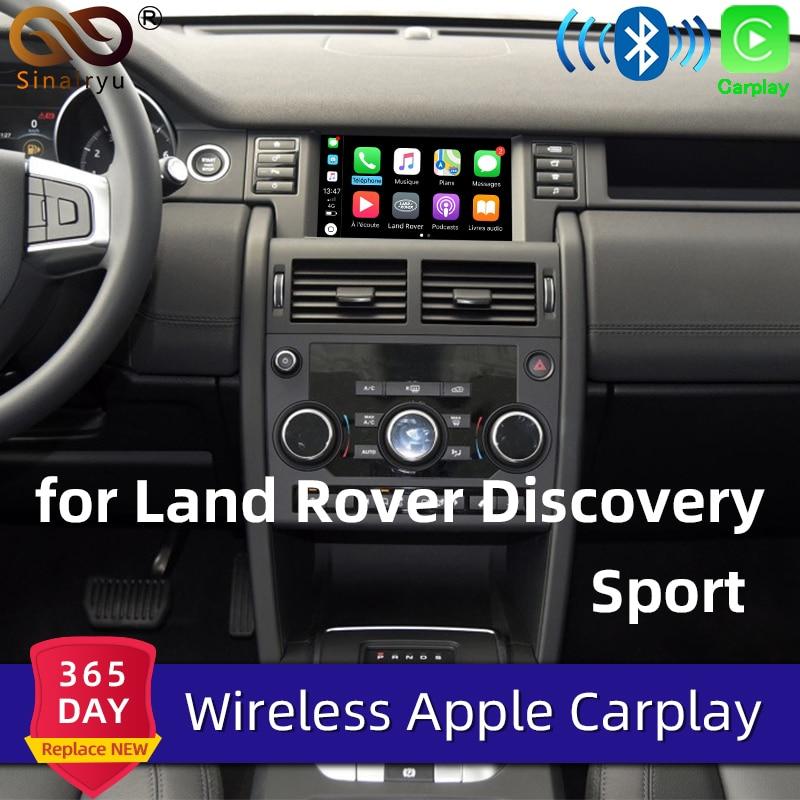 Sinairyu беспроводной Apple Carplay для Land Rover/Jaguar Discovery Sport F-Pace Discovery 5 Android авто зеркало Wifi iOS13 автомобильный игровой