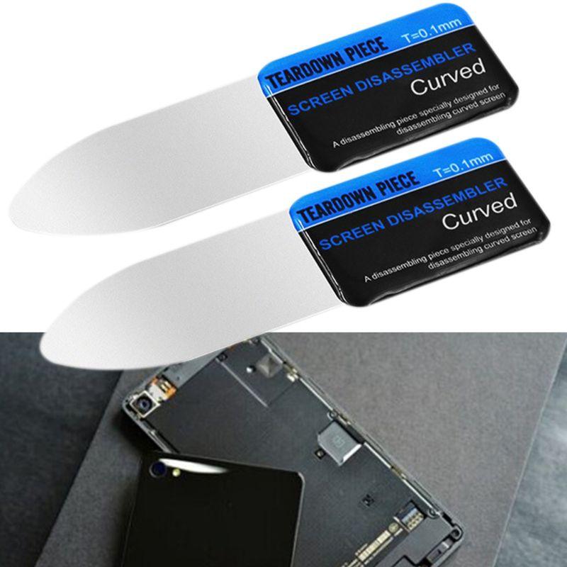 Mobiltelefon LCD-képernyő hajlított spudger, nyitó pry-kártya, - Szerszámkészletek - Fénykép 3