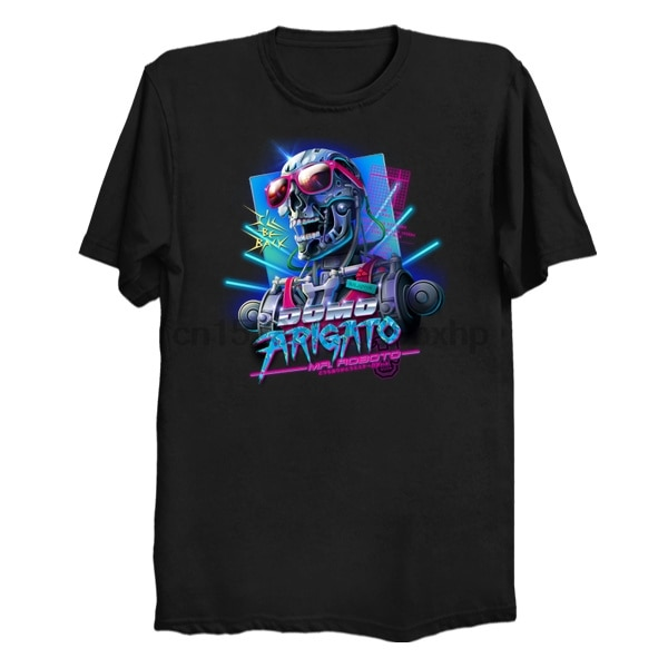 Hombres camiseta Domo Arigato Mr. Roboto mujeres camiseta top